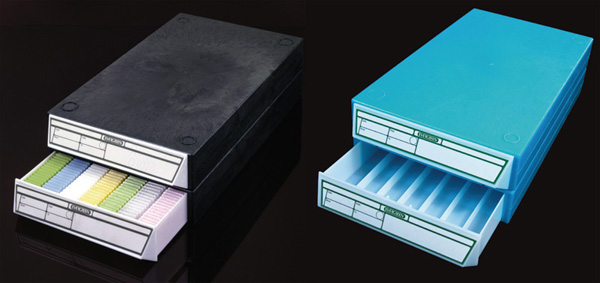 Drawers for histology cassettes