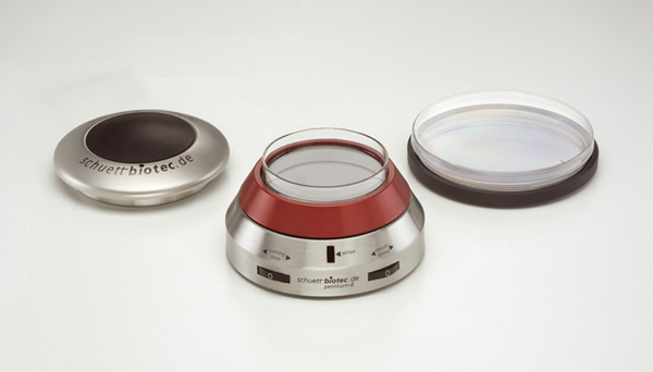 Petriturn turntables for petri dishes
