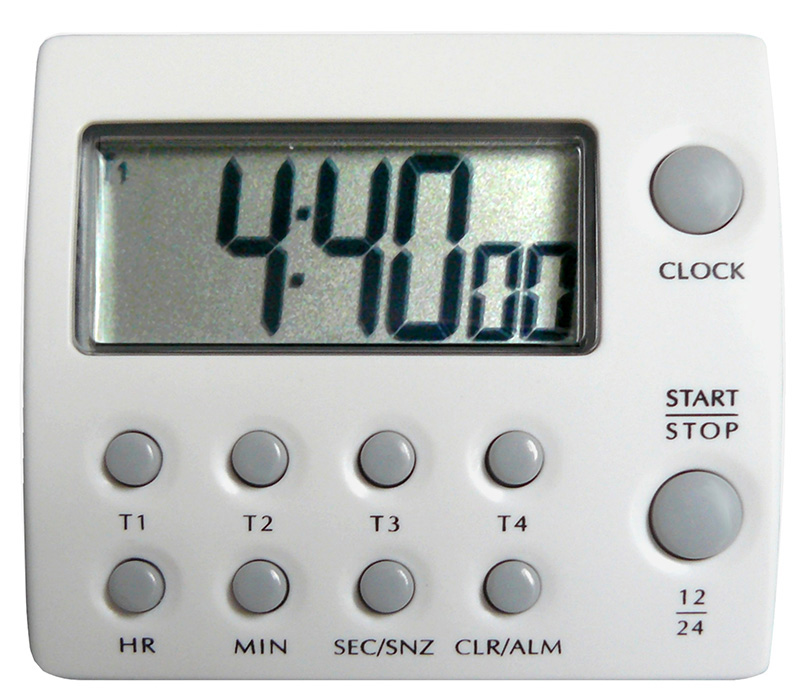 4 channel countdown timer