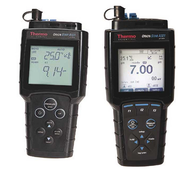 ORION STAR portable pH meters / ionometers series A120 and A320