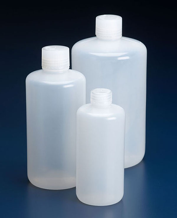 LDPE bottle with narrow neck