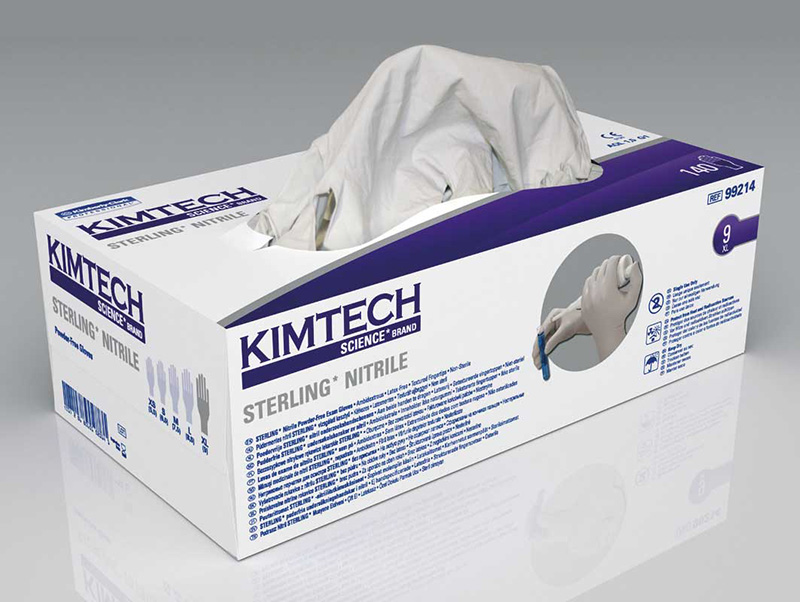 KIMTECH SCIENCE* STERLING* NITRILE* and STERLING* NITRILE-XTRA* Gloves