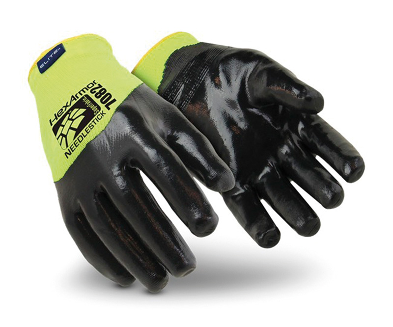 Hexarmor SHARPMASTER HV 7082 needlestick resistant gloves