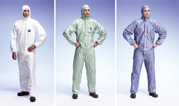 Coveralls with hood TYVEK® Classic and Classic Xpert
