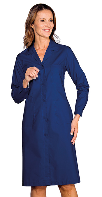 Cotton or polycotton women's lab coats