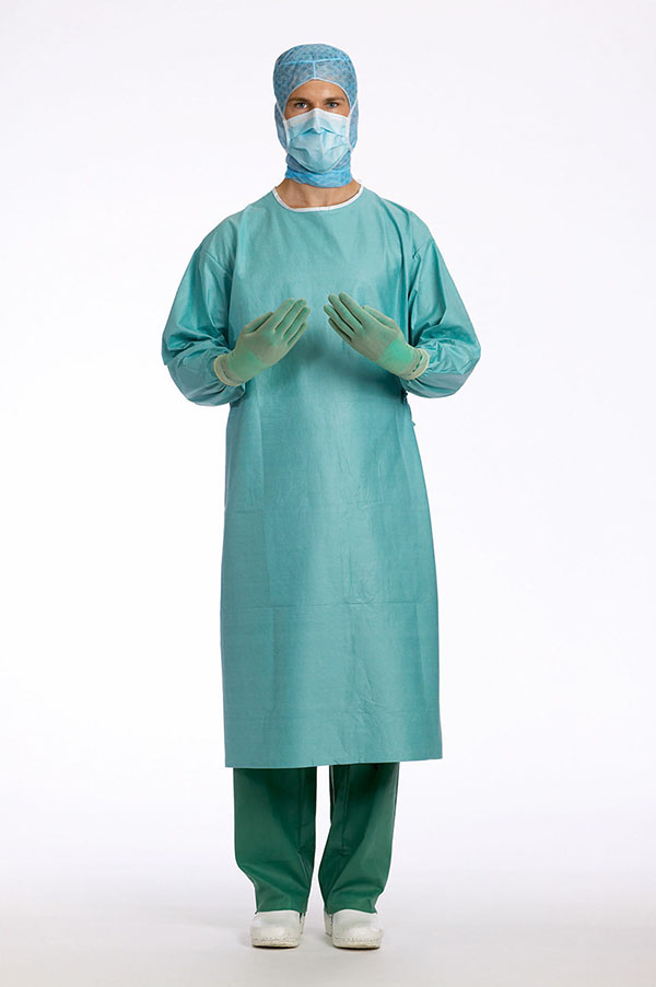 Disposable sterile surgical gowns