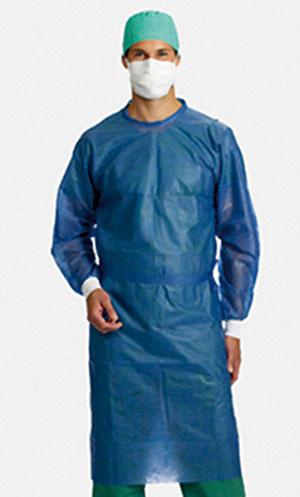 Sterile insulation gowns