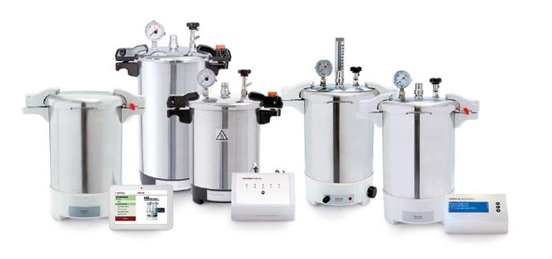Reference 432003 - 12-liter EL Certoclav with aluminium