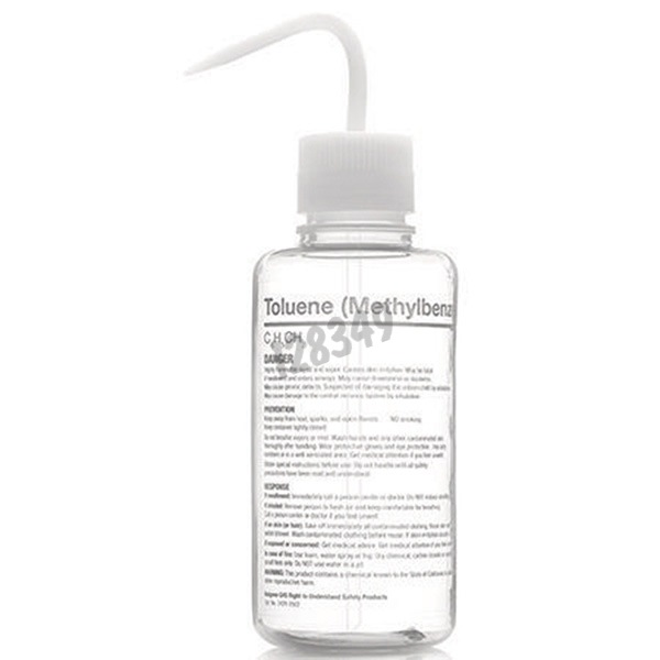 Reference 128348 - 500 mL FEP safety wash bottle for Acetone