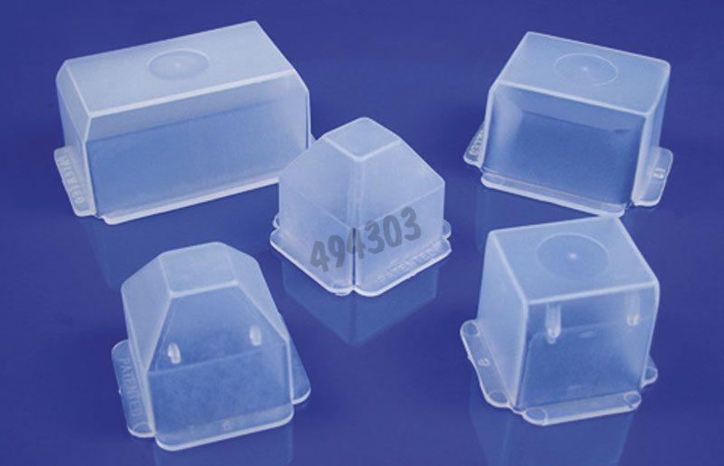 Peel-A-Way disposable embedding mold sampler pack (16 x S22 square molds, 8 x R30, 8 x S40, 8 x T8 and 8 x T12), square/rectangular/truncated