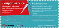 Preventive Maintenance Service Coupon for Single Channel Micropipette