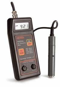 Portable conductivity meter HI 87314
