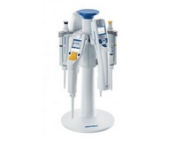 Stands 2, carousels 2 and supports for Eppendorf pipettes