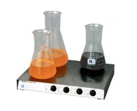 4 workstation MS-01 magnetic stirrer