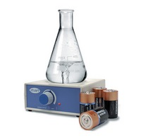 SM27 battery operated magnetic stirrer