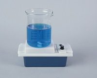 Magnetic stirrer with batteries