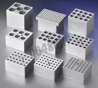 Block for 24 x 1,5 mL microtubes